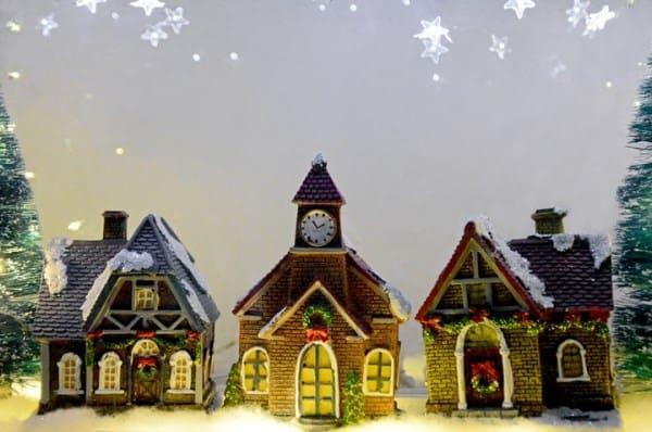 Weihhnachtsmaus Haus